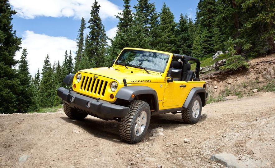 2011 Jeep Wrangler Sahara and Wrangler Unlimited Sahara - Slide 7