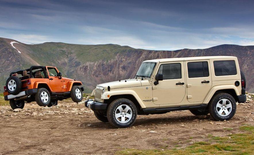 2011 Jeep Wrangler Sahara and Wrangler Unlimited Sahara - Slide 1