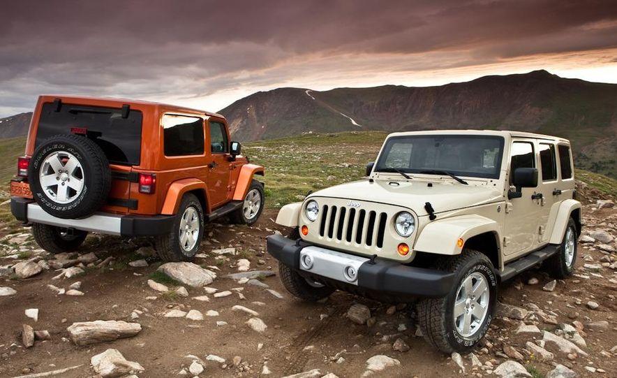 2011 Jeep Wrangler Sahara and Wrangler Unlimited Sahara - Slide 4