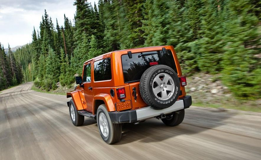 2011 Jeep Wrangler Sahara and Wrangler Unlimited Sahara - Slide 10