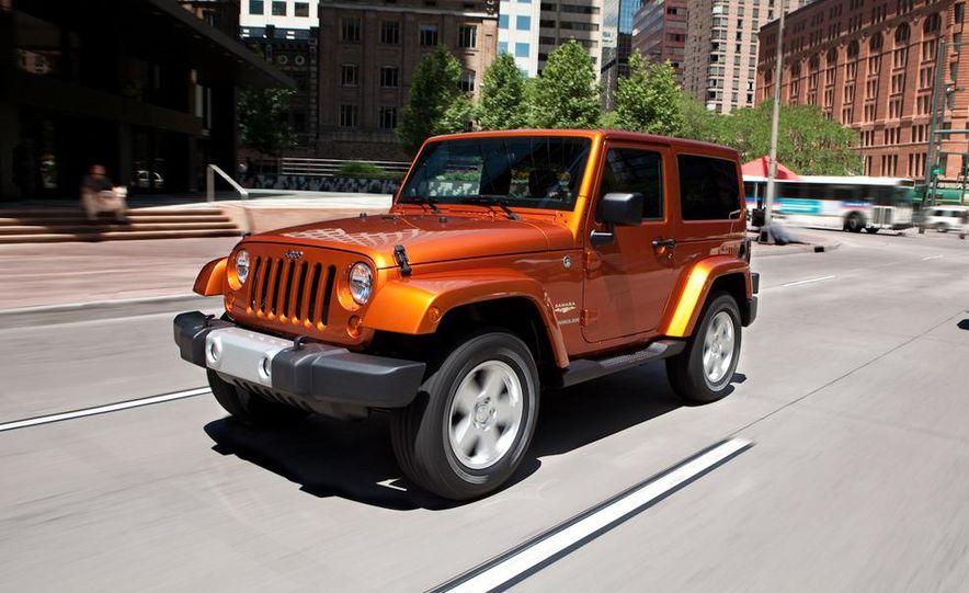 2011 Jeep Wrangler Sahara and Wrangler Unlimited Sahara - Slide 11