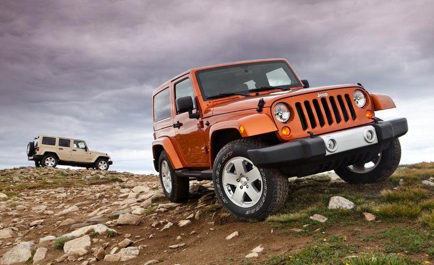 2011 Jeep Wrangler Sahara and Wrangler Unlimited Sahara - Slide 3