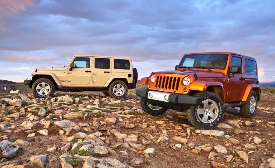 2011 Jeep Wrangler Sahara and Wrangler Unlimited Sahara - Slide 5