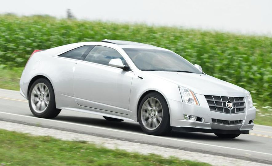 2011 Cadillac CTS coupe - Slide 11