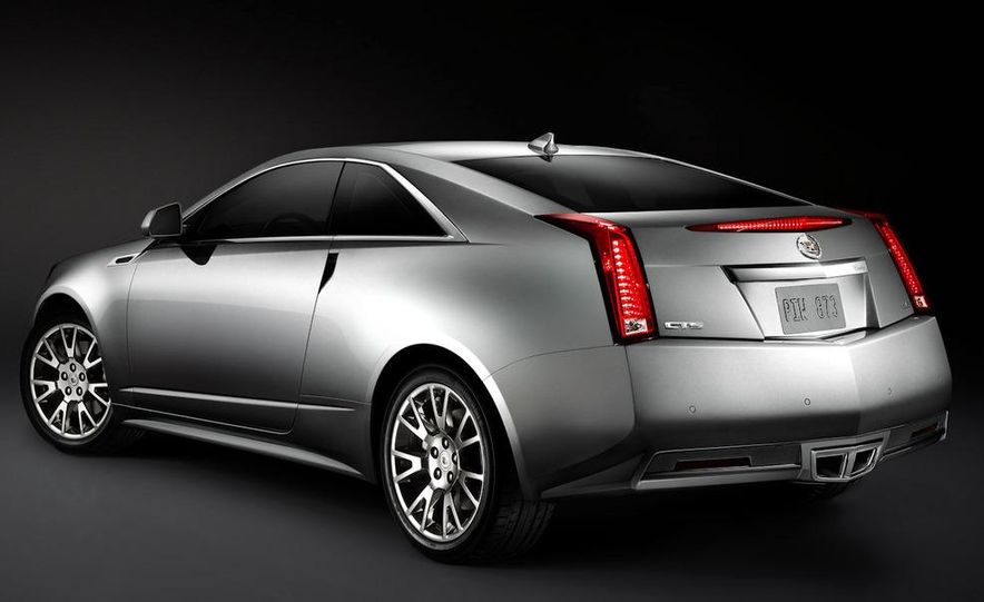 2011 Cadillac CTS coupe - Slide 33