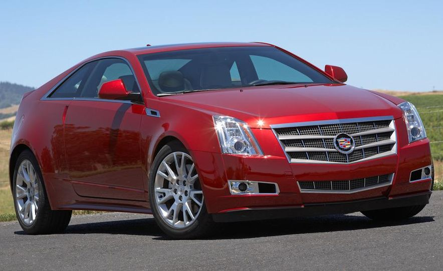 2011 Cadillac CTS coupe - Slide 17