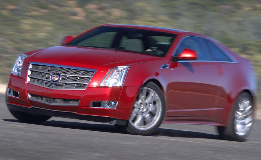 2011 Cadillac CTS coupe - Slide 19