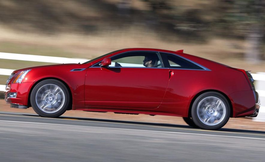 2011 Cadillac CTS coupe - Slide 25