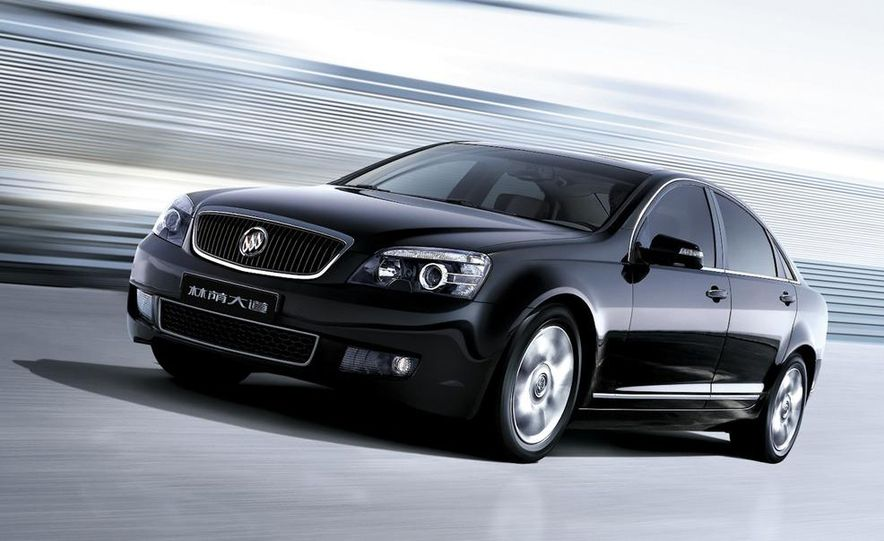 2010 Buick Excelle GT - Slide 23