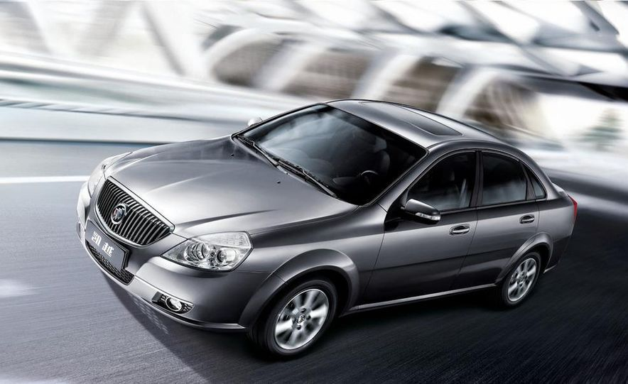 2010 Buick Excelle GT - Slide 13
