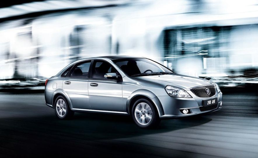2010 Buick Excelle GT - Slide 14