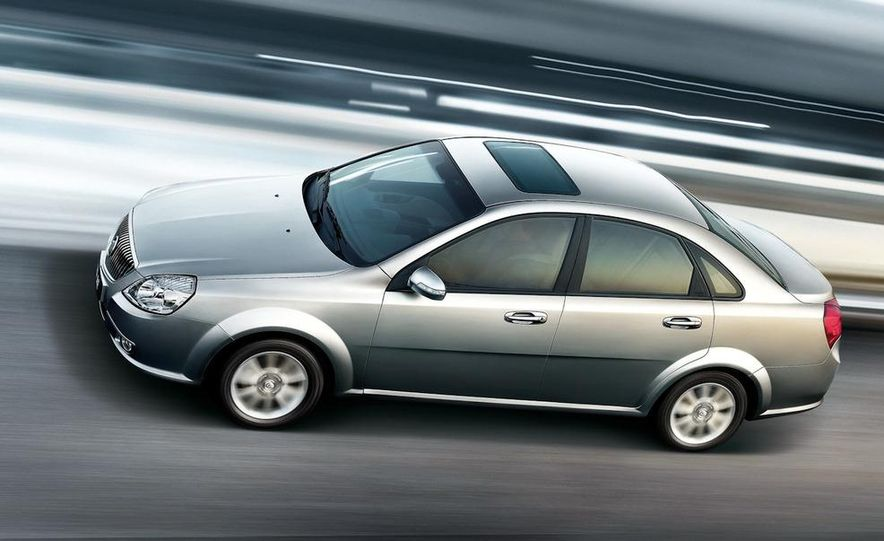 2010 Buick Excelle GT - Slide 15