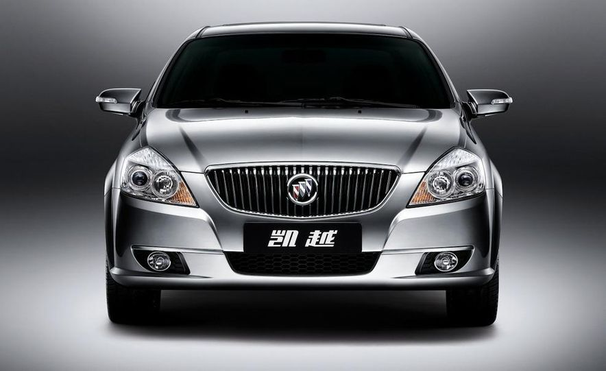 2010 Buick Excelle GT - Slide 16