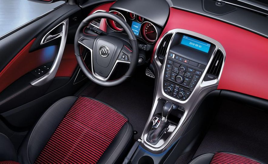 2010 Buick Excelle GT - Slide 12