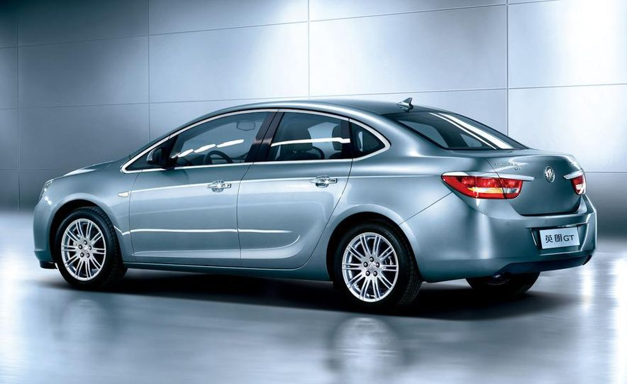 2010 Buick Excelle GT - Slide 4