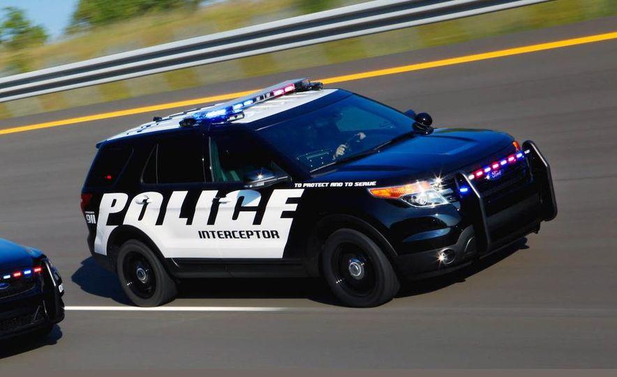 2012 Ford Explorer Police Interceptor Utility - Slide 3