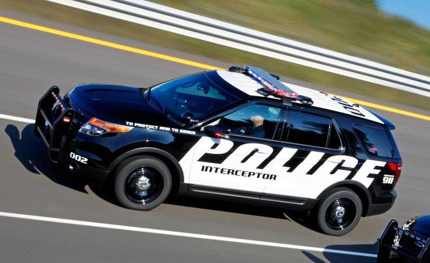 2012 Ford Explorer Police Interceptor Utility - Slide 4