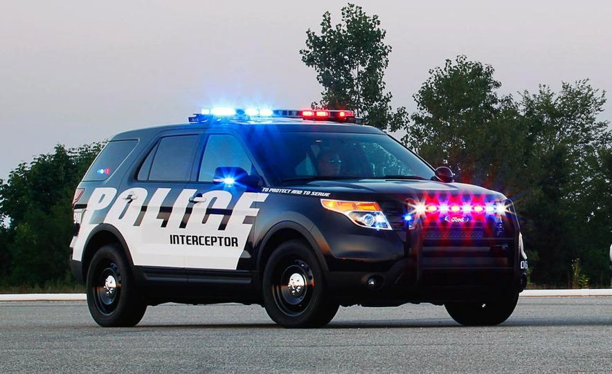 2012 Ford Explorer Police Interceptor Utility - Slide 8