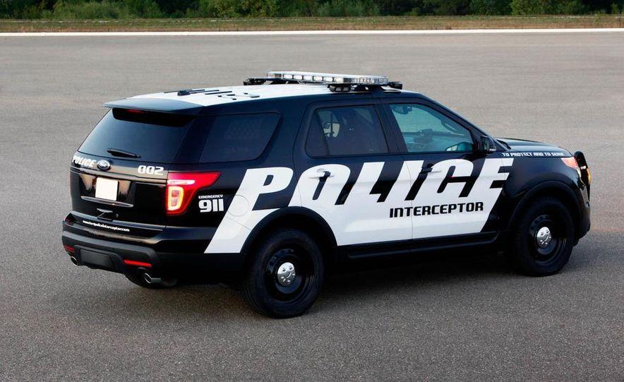 2012 Ford Explorer Police Interceptor Utility - Slide 10