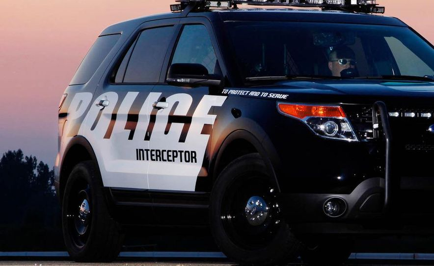 2012 Ford Explorer Police Interceptor Utility - Slide 11