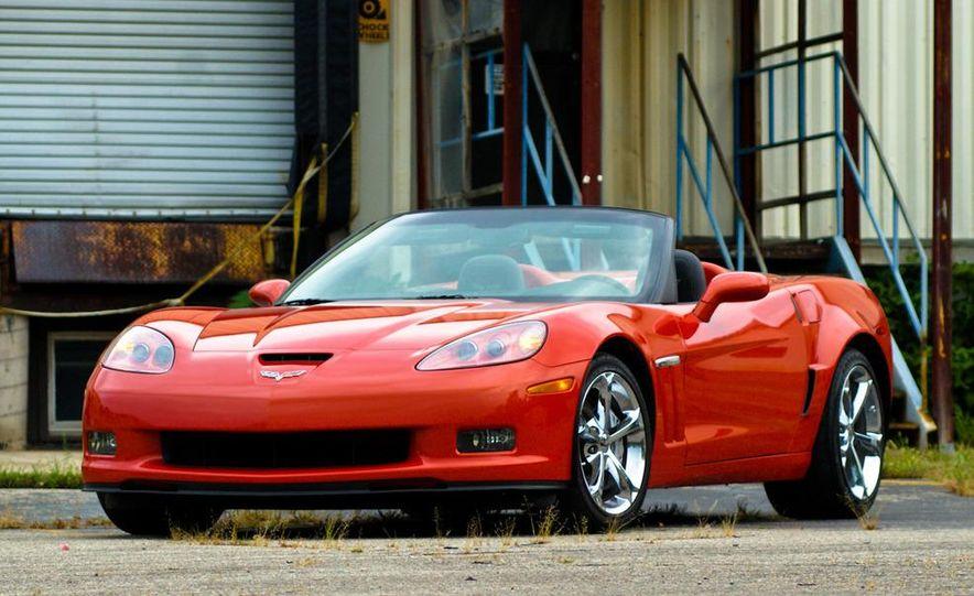 2011 Chevrolet Corvette Grand Sport convertible - Slide 1