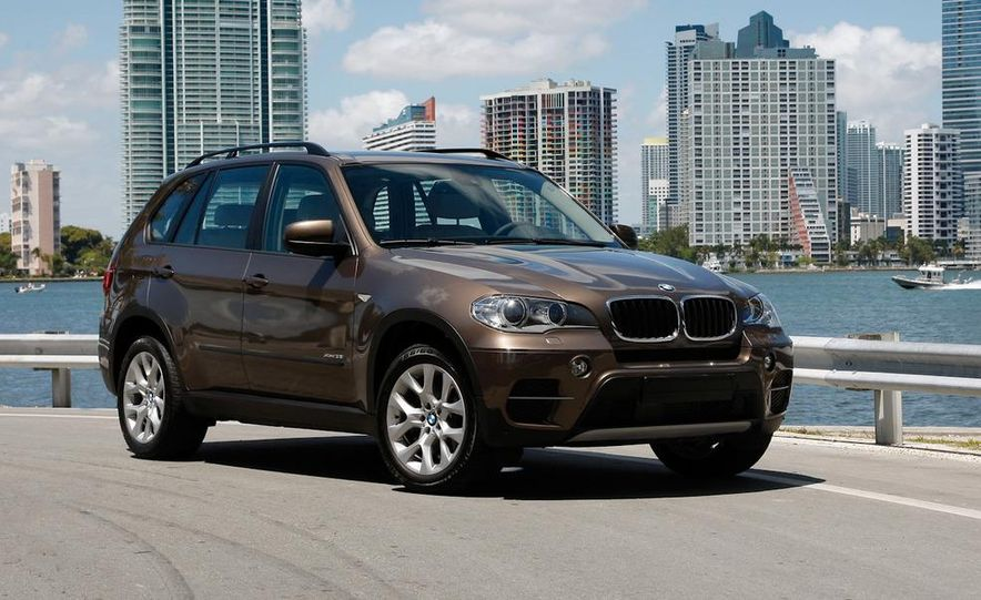 2011 BMW X5 xDrive35i (European spec) - Slide 9
