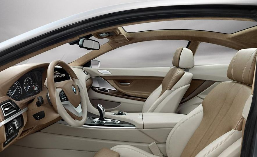 BMW 6-series coupe concept - Slide 12