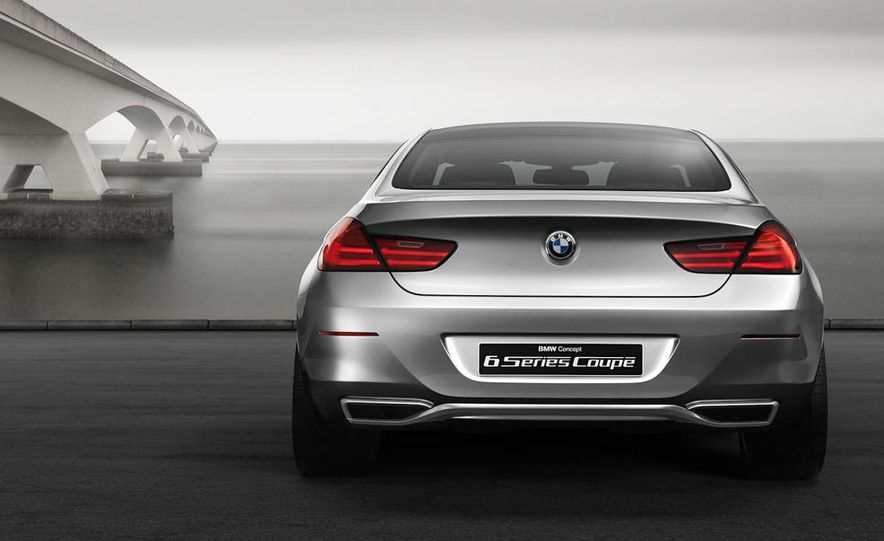 BMW 6-series coupe concept - Slide 1