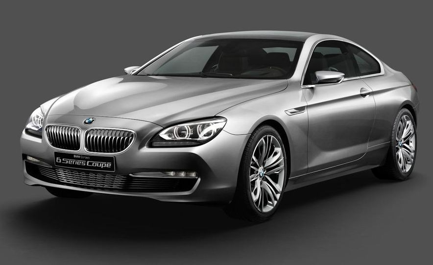 BMW 6-series coupe concept - Slide 6