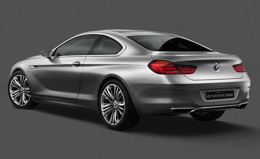 BMW 6-series coupe concept - Slide 7