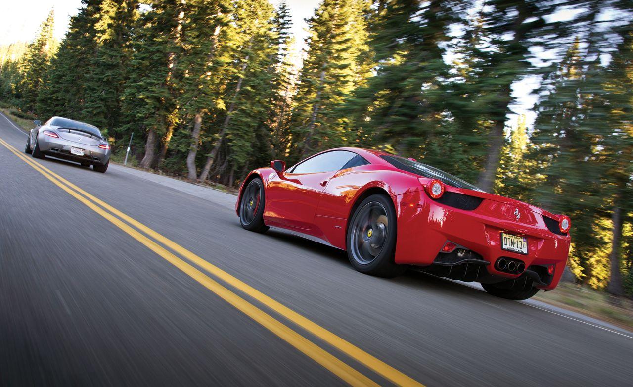 Ferrari 458 quarter mile