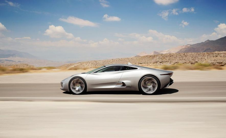 Jaguar C-X75 concept - Slide 28