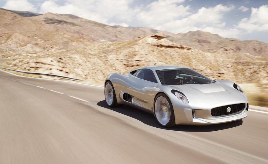 Jaguar C-X75 concept - Slide 26