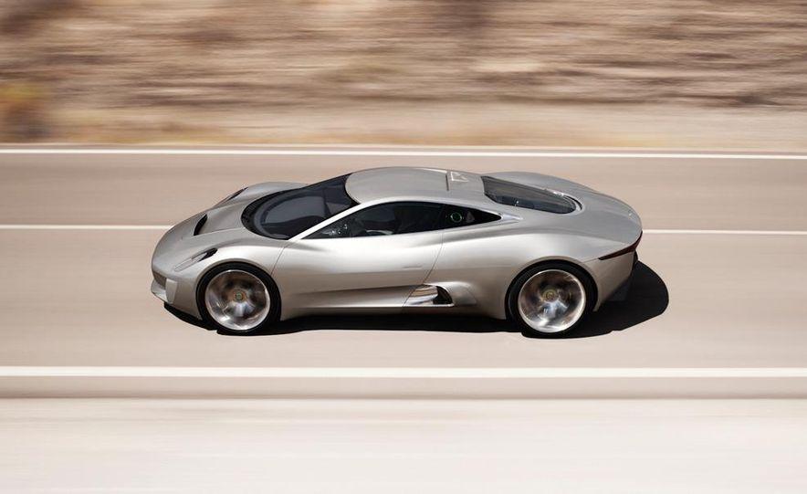 Jaguar C-X75 concept - Slide 27