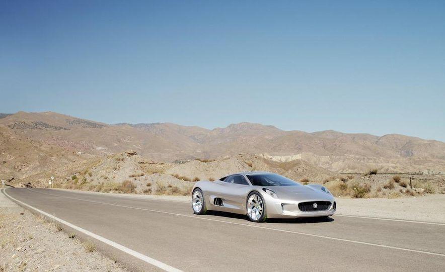 Jaguar C-X75 concept - Slide 29