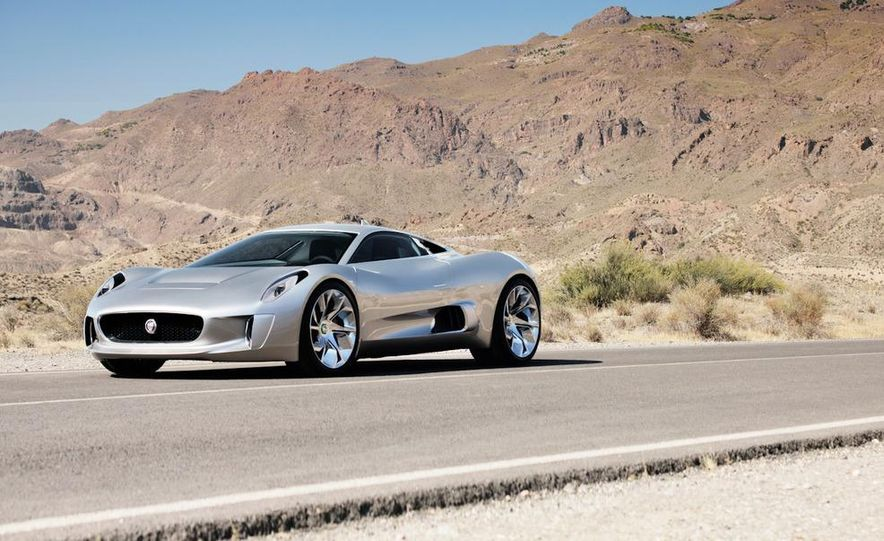 Jaguar C-X75 concept - Slide 30