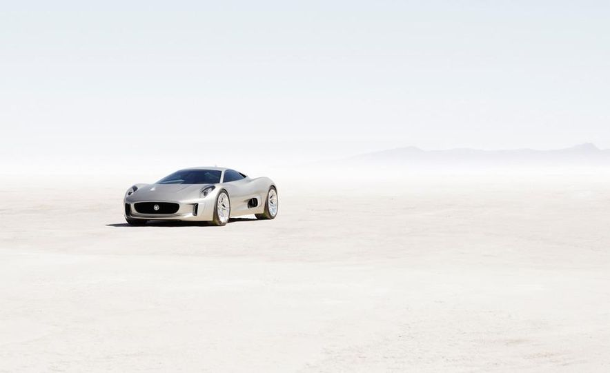 Jaguar C-X75 concept - Slide 34