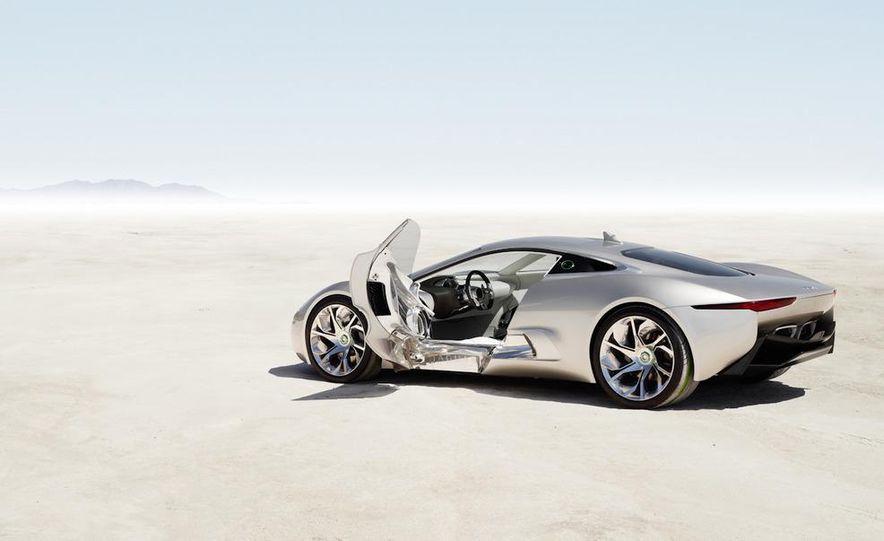 Jaguar C-X75 concept - Slide 39