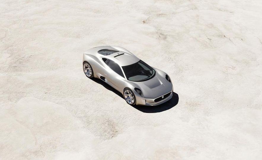 Jaguar C-X75 concept - Slide 36