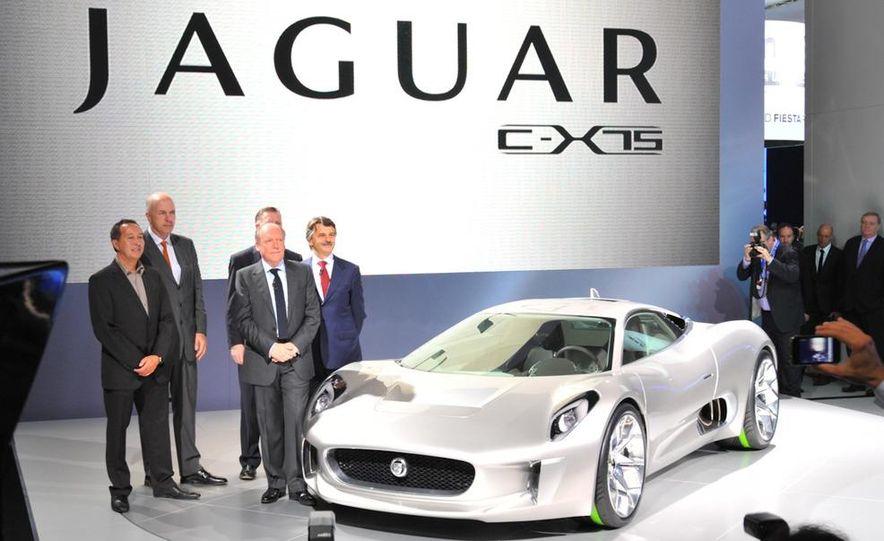 Jaguar C-X75 concept - Slide 1