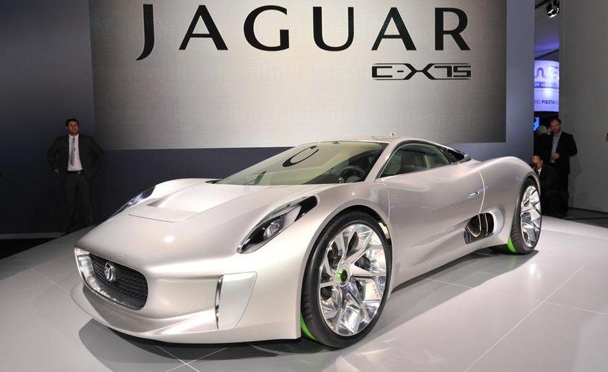 Jaguar C-X75 concept - Slide 4