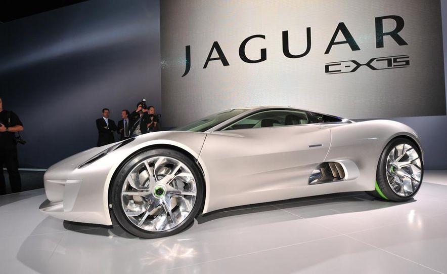 Jaguar C-X75 concept - Slide 5