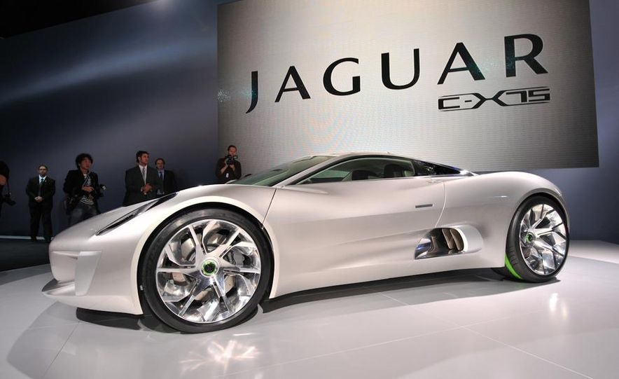 Jaguar C-X75 concept - Slide 6