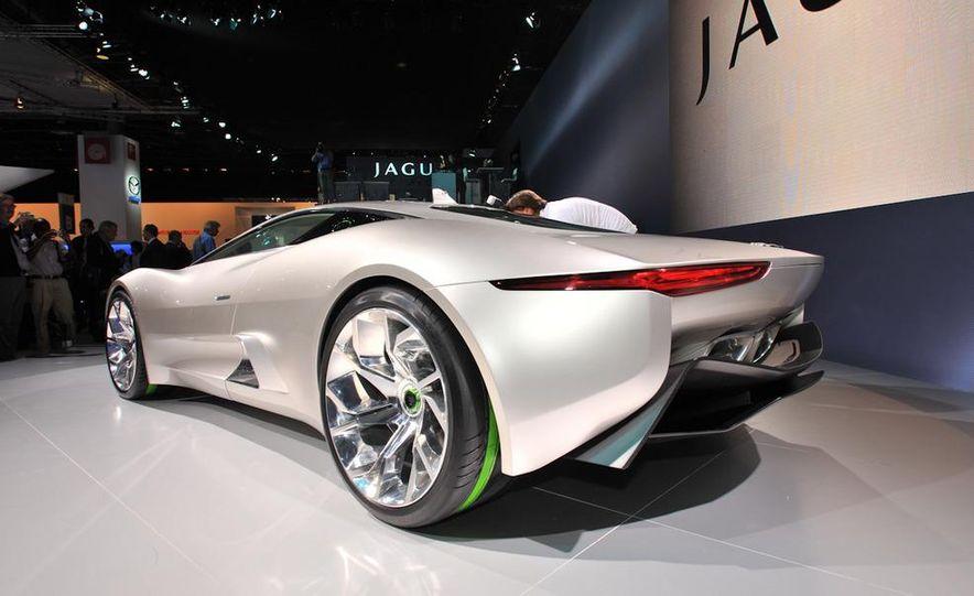 Jaguar C-X75 concept - Slide 7