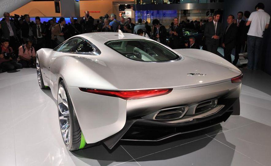 Jaguar C-X75 concept - Slide 9