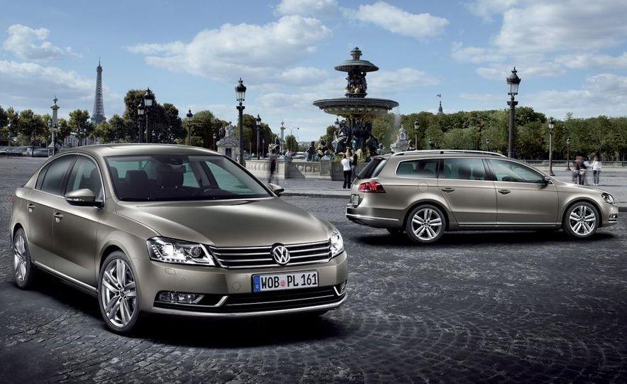 2011 Volkswagen Passat (European spec) - Slide 22