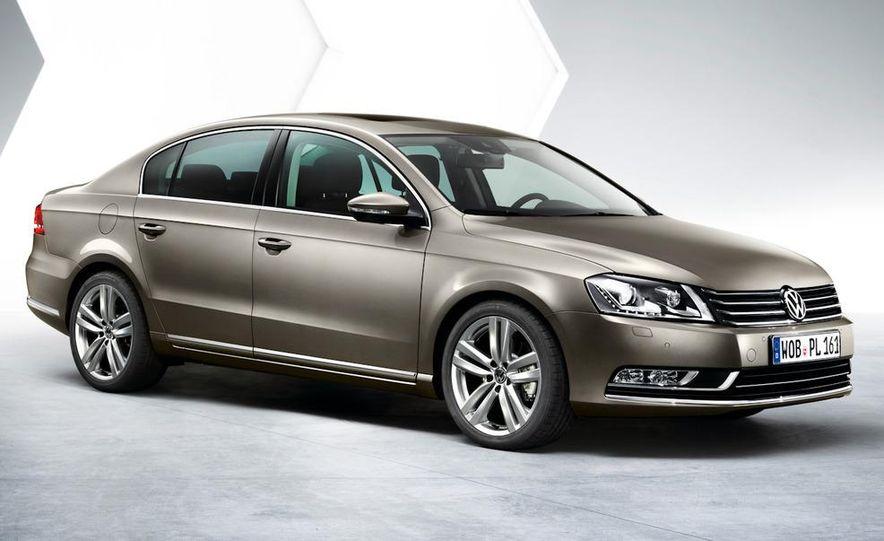 2011 Volkswagen Passat (European spec) - Slide 16