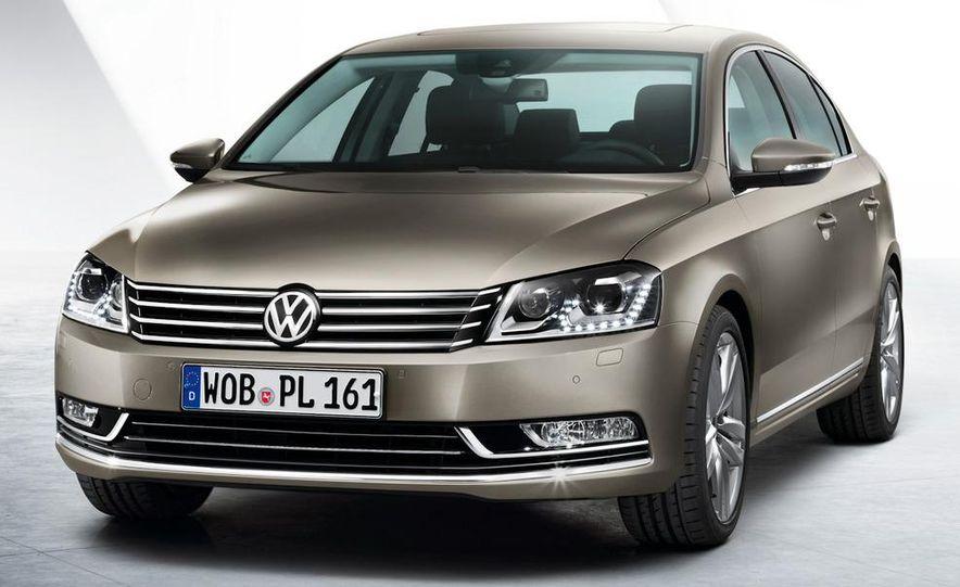2011 Volkswagen Passat (European spec) - Slide 15
