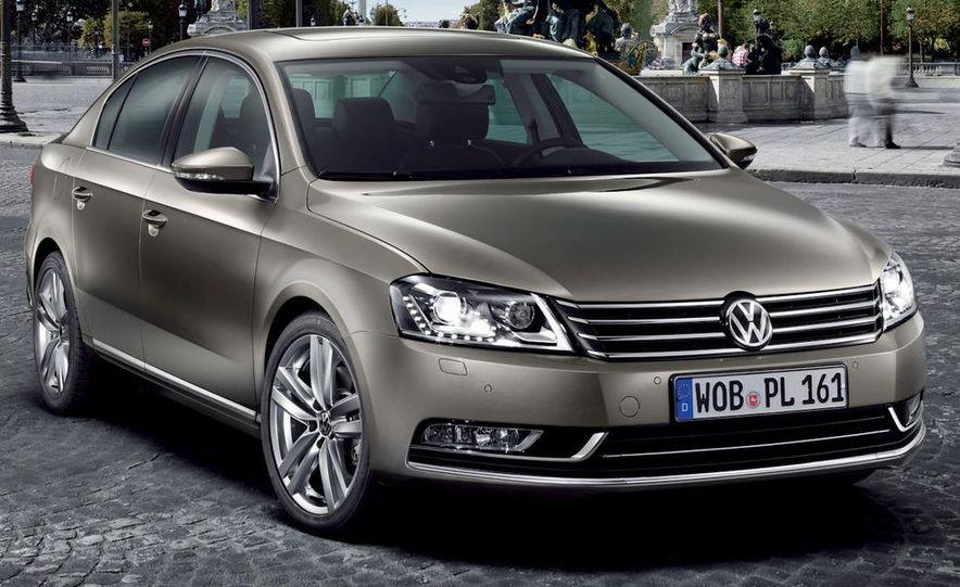 2011 Volkswagen Passat (European spec) - Slide 11