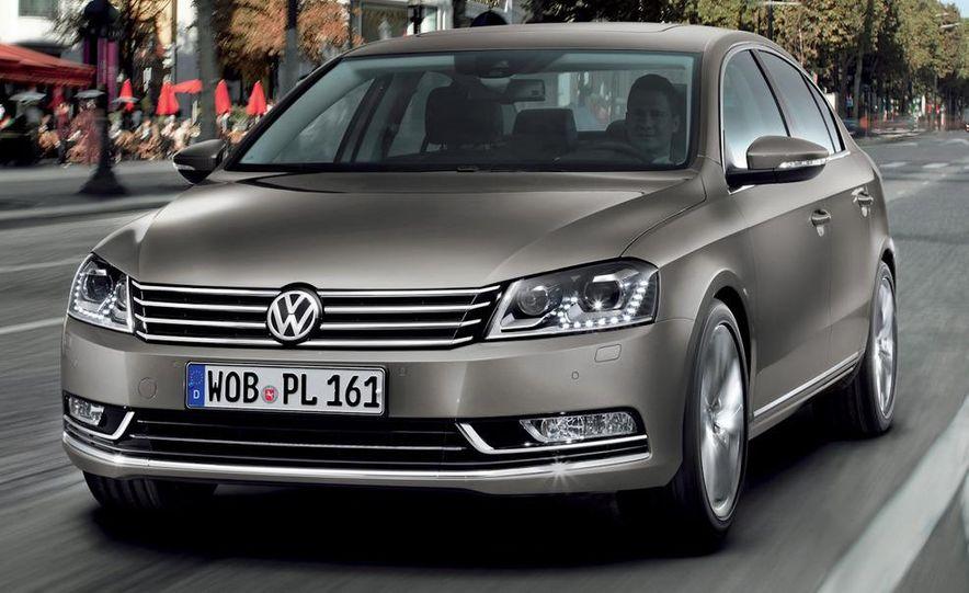 2011 Volkswagen Passat (European spec) - Slide 12